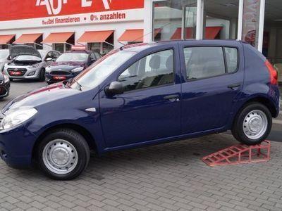 gebraucht Dacia Sandero 1.4 MPI 1. Hand Anhängerzugvorrichtung