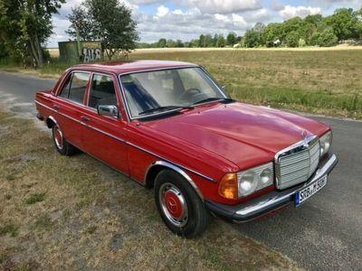gebraucht Mercedes 200 W 123 H-Kennzeichen