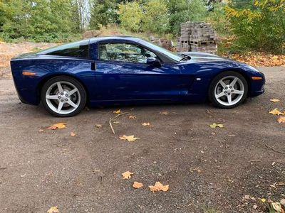 gebraucht Corvette C6 Coupe Targa 1.Hand Schalter D-Auto