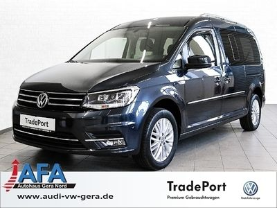 gebraucht VW Caddy Maxi 2,0 TDI Highline DSG AHK,Standhzg,Xenon,EURO6