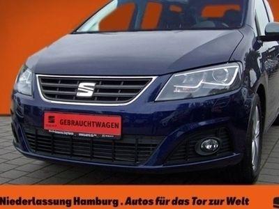 gebraucht Seat Alhambra Style Plus 2.0 TDI Navi Kurvenlicht Rückfahrkam. El. Heckklappe LED-hinten LED-Tagfahrlicht
