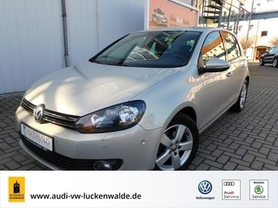gebraucht VW Golf VI Comfortline VI 1.6 TDI Team *KLIMA*SHZ*GRA*
