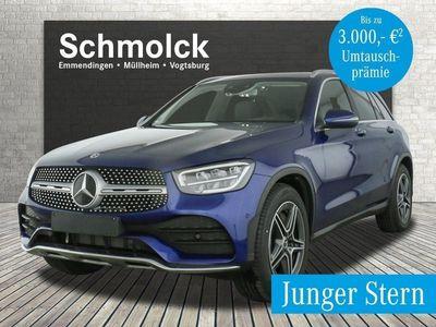 gebraucht Mercedes 200 GLC4M AMG/LED/HIGH-END/KAMERA/SPUR/MBUX/DAB