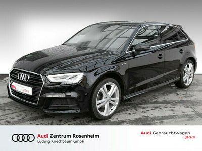 gebraucht Audi A3 Sportback g-tron S line 1.4 TFSI (ACC,Matrix,Navi+)