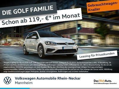 gebraucht VW Golf VII Highline VII 1.5 TSI R-Line BMT LED Navi Telefon uvm