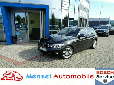gebraucht BMW 118 d Advantage LED Alu PDC Sitzh Klimaautomatik