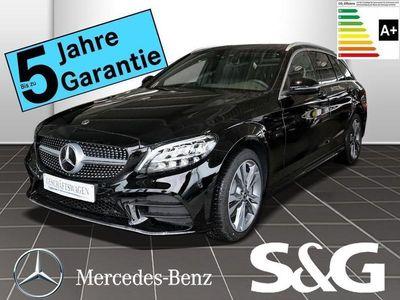 gebraucht Mercedes C300 de T AMG-Line Navi/LED/AMG18/Kamera/Park/