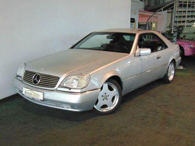 gebraucht Mercedes CL500 Coupe Leder Schiebedach Klima Alu El.Sitze