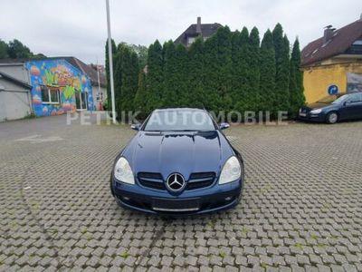 gebraucht Mercedes 350 SLK RoadsterCabrio Navi Klimaautomatik