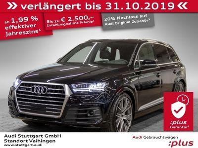 gebraucht Audi Q7 50 TDI quattro S line ACC Matrix Bose VirtCo