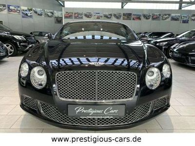 gebraucht Bentley Continental GT 6.0 W12 LederDarkBourbon ONYX TOP