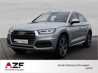 gebraucht Audi Q5 2.0 TDI qu. S-tronic design+LED+Kamera+Navi+AHK