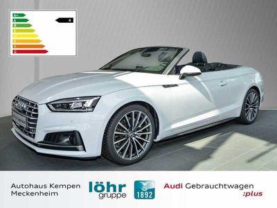 gebraucht Audi A5 Cabriolet sport 40 TDI S tronic S line Navi LED