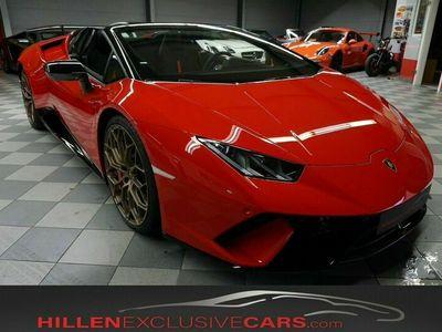 gebraucht Lamborghini Huracán Performante Spyder Dt. Auto*unfallfrei