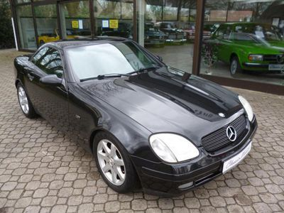 gebraucht Mercedes SLK200 *Klima*Windschott*Radio/CD*Alu-Felgen*Schalter*