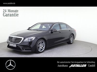 gebraucht Mercedes S400 d Lang AMG+Exklusiv+HUD+Chauffeur+Sitzklim