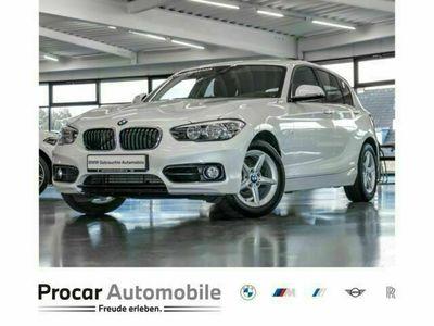 gebraucht BMW 118 d xDrive 5-Türer Sport Line Nav Shz PDC Klima