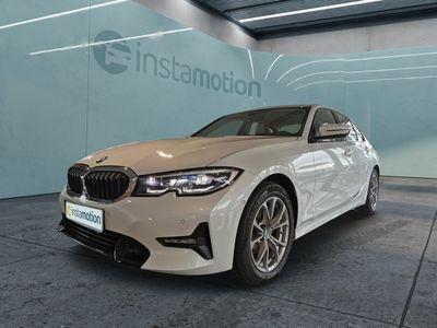 gebraucht BMW 320 320 d Sport Line Mild Hybrid EU6d LED Klima Park-Assistent Temp PDC