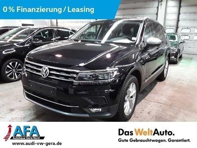 gebraucht VW Tiguan Allspace 2,0 TDI Highl. 4M DSG AHK*7Sitze*LED