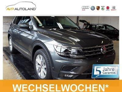 gebraucht VW Tiguan Highline 2.0 TSI BMT DSG 4MOTION | LED schwarz