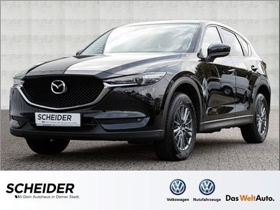 gebraucht Mazda CX-5 Skyactiv 2.2 2WD Exclusive-Line Klima LED Navi DA