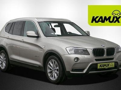 gebraucht BMW X3 xDrive20d Steptronic+Xenon+Navi+TeilLeder+HuD