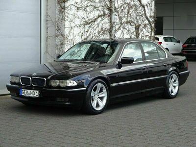 gebraucht BMW 728 Baureihe 7 i / Schwarz - Schwarz