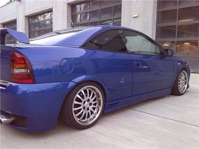 gebraucht Opel Astra 2.2 16V Coupe Linea Blu