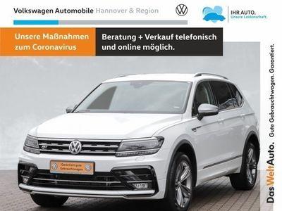 gebraucht VW Tiguan Allspace Highline 2.0 TDI DSG 4-Motion 7-Sitzer R-Line LED AHK Navi Kamera PDC