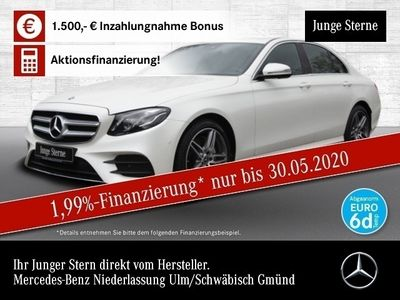 gebraucht Mercedes E200 AMG 360° Multibeam Totwinkel PTS Sitzh Temp