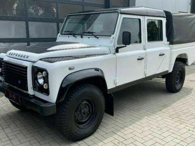 "gebraucht Land Rover Defender 130 Td4 Crew Cab E ""Black&White"" 1.Hand"