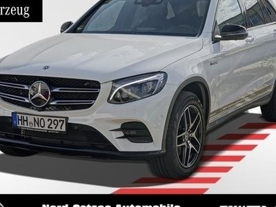gebraucht Mercedes GLC350 d 4M AMG Night AHK Distronic LED Keyless