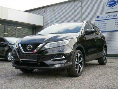 gebraucht Nissan Qashqai Tekna 1.3 DIG-T 360° Leder Navi Panorama 19 Zol...
