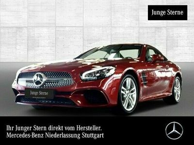 gebraucht Mercedes SL400 AMG Pano COMAND ILS LED Kamera Klimaautom