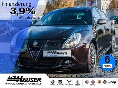gebraucht Alfa Romeo Giulietta 1.4 TB 16V TURISMO KLIMA 1.HAND