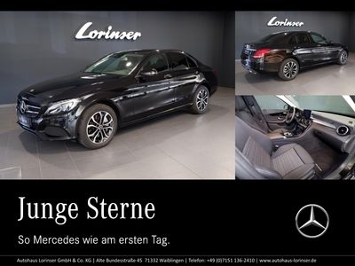 gebraucht Mercedes C400 4MATIC AVANTGARDE/NIGHT/NAVI/LED/TOTWINKEL