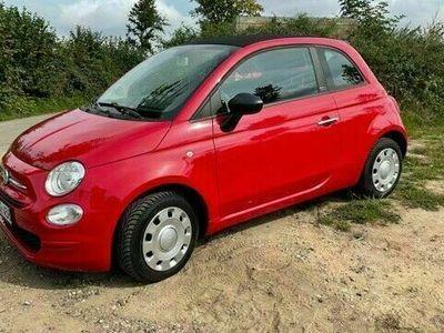 gebraucht Fiat 500C Cabrio rot 3 Jahre alt