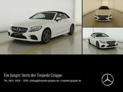 gebraucht Mercedes C200 CABRIO AMG AIRSCARF+LED+DISTR+KAMERA+KEYLE