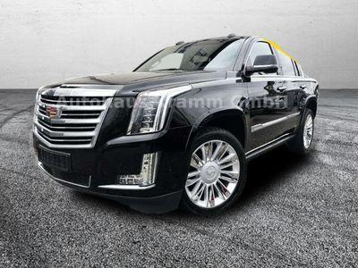 gebraucht Cadillac Escalade Platinum 6.2 V8 7-Sitzer LED Navi Dyn. Kurvenlicht