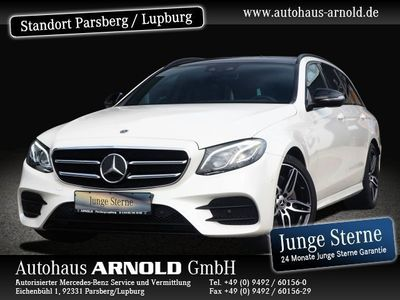 gebraucht Mercedes E300 d AMG Line Night Fahrass.-P. Panoramad. Autom.