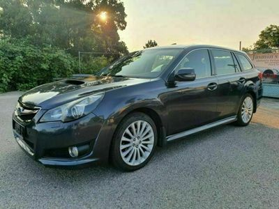 gebraucht Subaru Legacy 2.0D Xenon EL-Sitze Schiebedach Euro5 Co