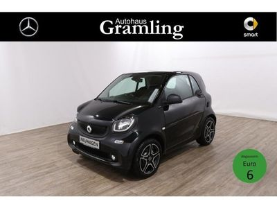 gebraucht Smart ForTwo Coupé 66kW passion *Pano-Dach*Cool&Media*