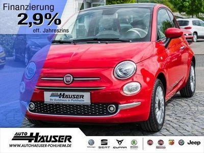 gebraucht Fiat 500 1.2 8V S+S LOUNGE PANO KLIMA ALU PDC (Einparkhilfe