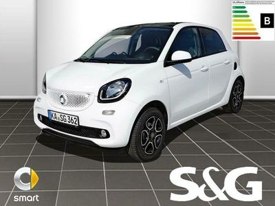 gebraucht Smart ForFour 66kW turbo PASSION twinamic/Park/Pano/LM