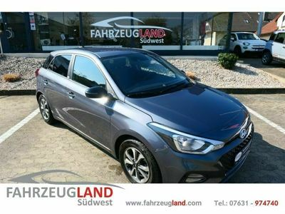gebraucht Hyundai i20 YES! 1.2 EU6d-T Rückfahrkam. Freisprechen Ca
