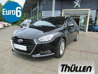 gebraucht Hyundai i40 Trend Kombi blue 1.6, Sitz- und Lenkradheizung