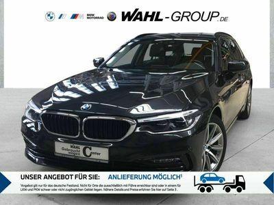 gebraucht BMW 520 d xDrive Touring Sport Line LED WLAN AHK Shz