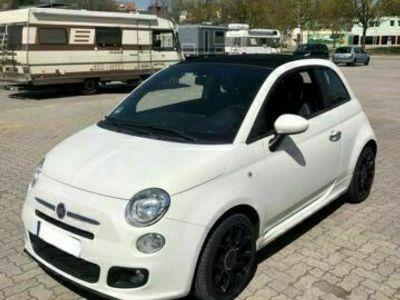 gebraucht Fiat 500S Cabrio #1.Hand#Scheckheft#Unfallfrei!!