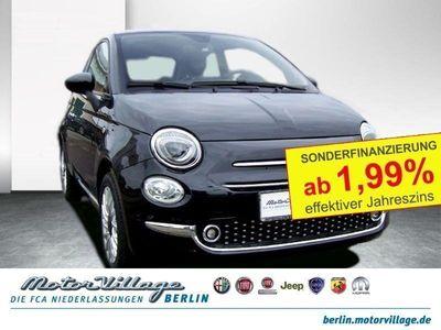 gebraucht Fiat 500 1.2 8V Lounge 51kW (69PS) Glasdach Klima PDC