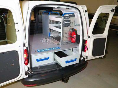 gebraucht VW Caddy 2.0 TDI SCR AHK Klima Service-Regaleinbau